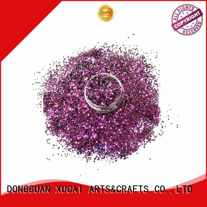 new colors glitter hot sale for nail art makeup XUCAI