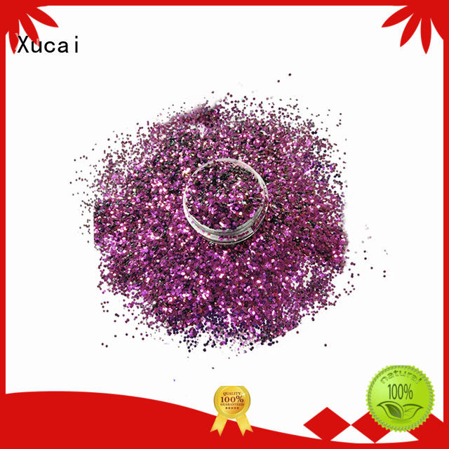 Xucai sparkle biodegradable glitter for sale for craft