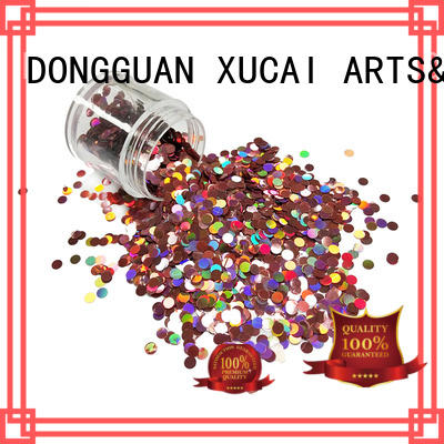 Xucai glitters holographic glitter manufacturer for arts