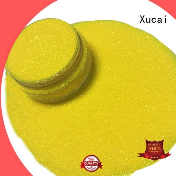 Xucai Iridescent glitter manufacturer for paper printing