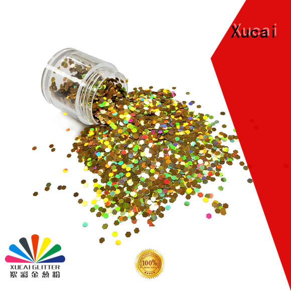 Xucai glitters manufacturer for body