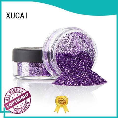 XUCAI multi color metallic glitters powder best for glass
