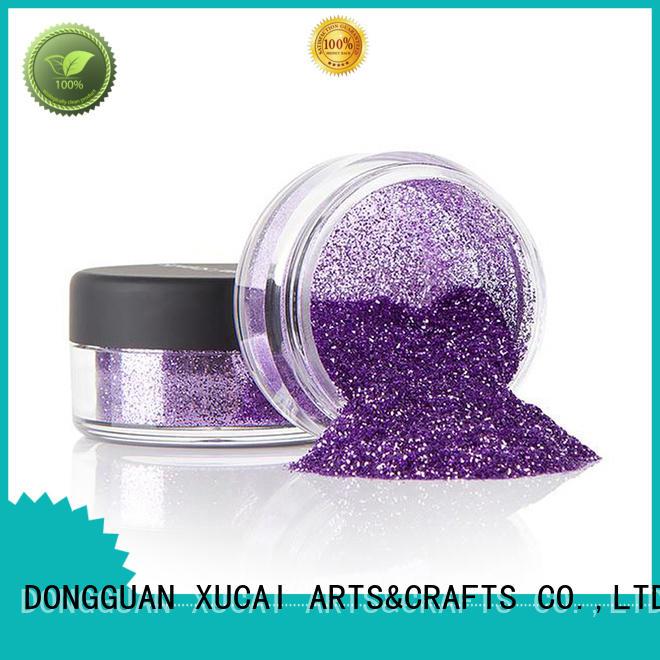 Xucai polyester metallic glitter comprar for decoration