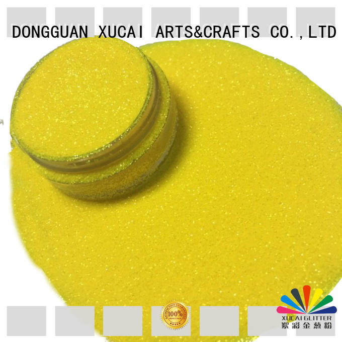 Xucai rainbow glitters products for christmas crafts