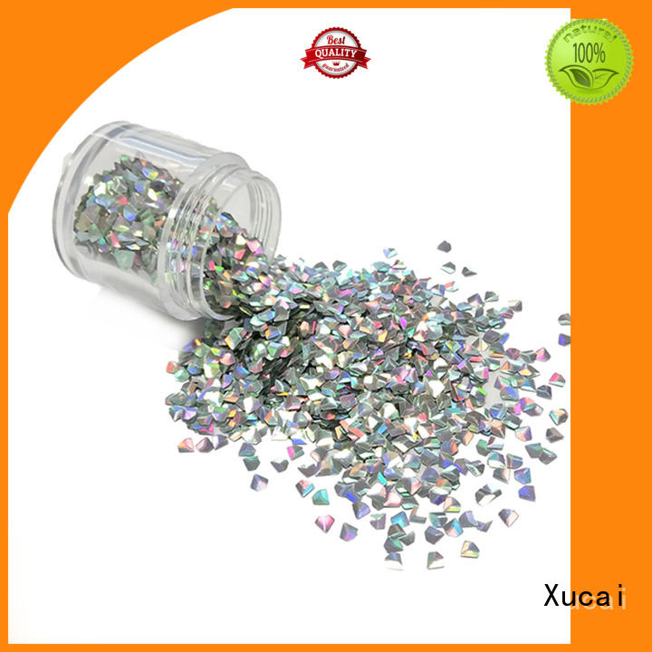 Xucai biodegradable glitter for sale for nail art makeup