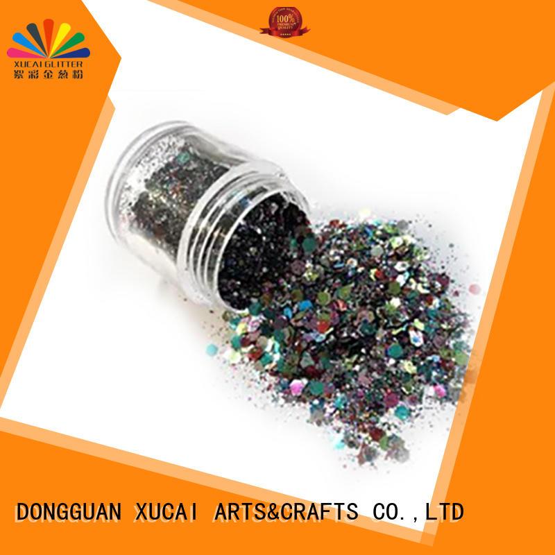 Xucai fashion colorful glitter comprar for glass