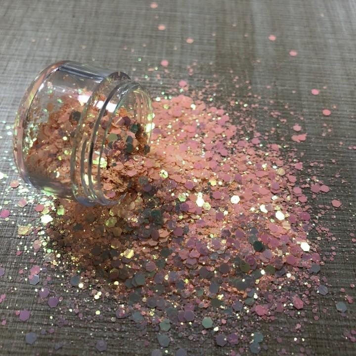Wholesale Cm Series Chunk, Holographic Shape Glitter Powder Chunky Glitter Hair Eye Face Body Makeup Loose Cosmetic Glitter