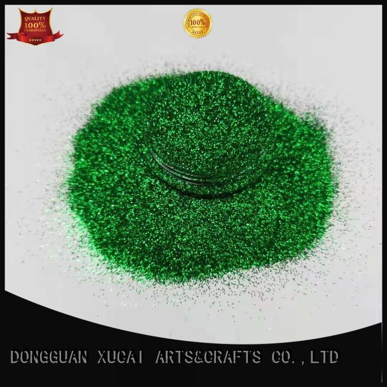 Xucai bulk glow in the dark glitter factory price for nail art makeup