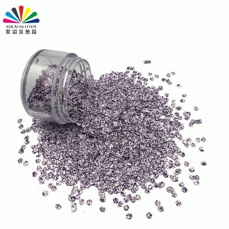 Super Fine Glitter 2020 New Design Polyester Bulk Shape Glitter for Nails & Craft