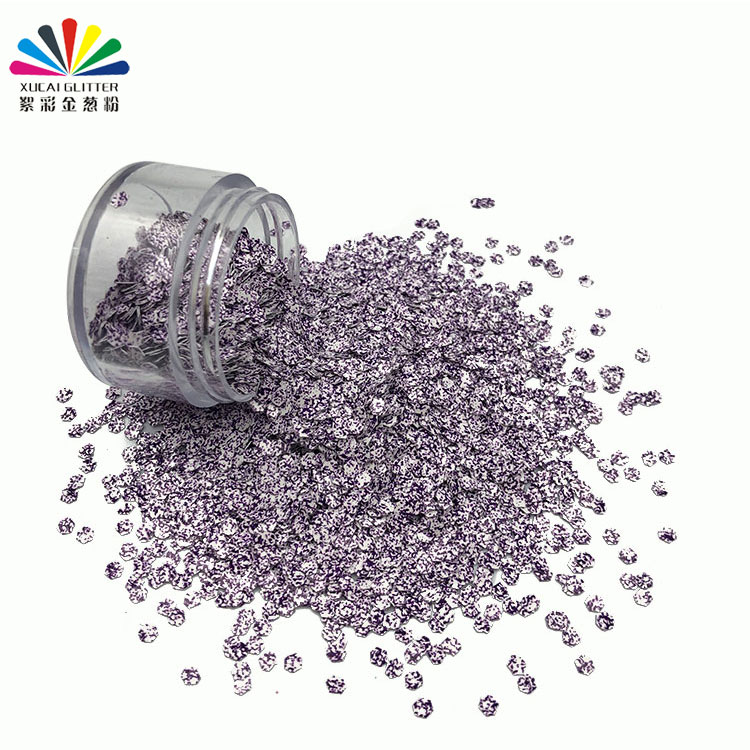 product-2020 New design polyester bulk shape glitter for nails craft-Xucai-img