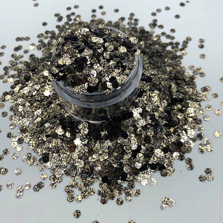 Different Color Shifting Glitter Polyester Chunky Christmas Glitter