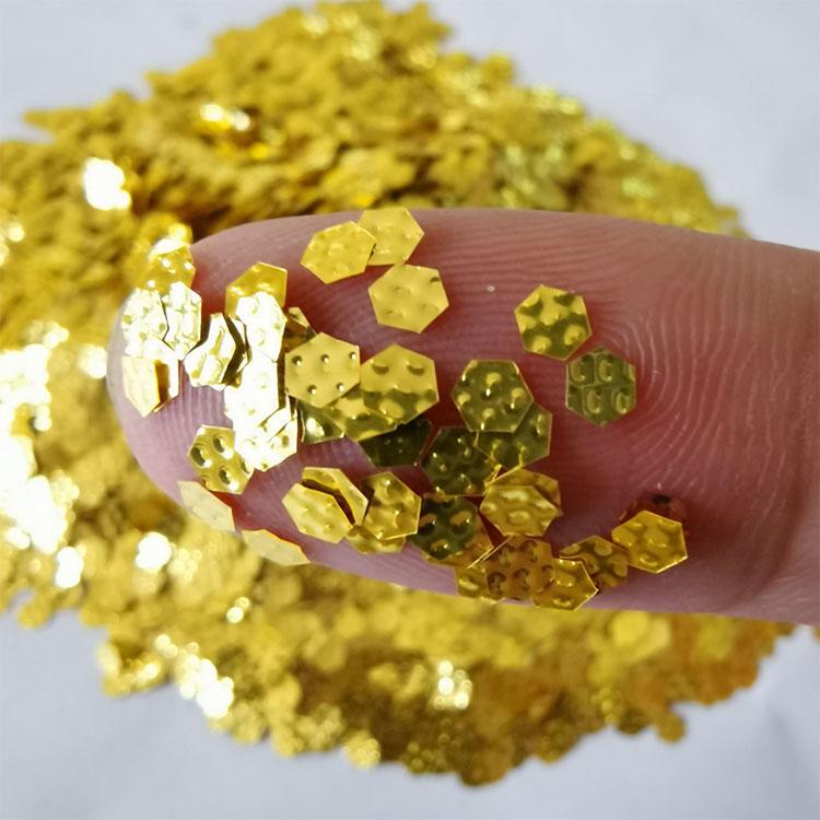 Eco-friendly Nail Glitter Dust Polyester 3d Nail Glitter Pots