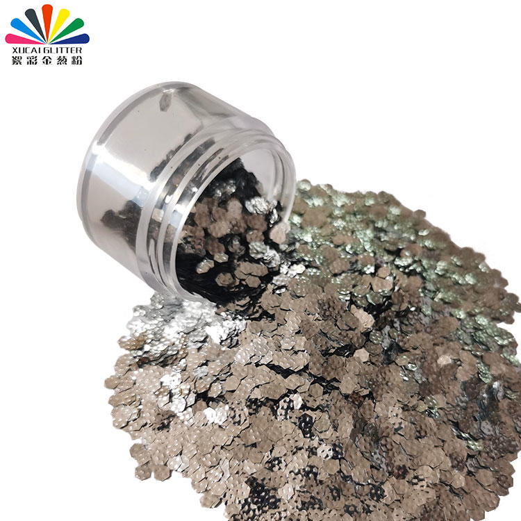3D Polyester Laser Glitter Flake for Nail Art, Make Up,cloth Decoration