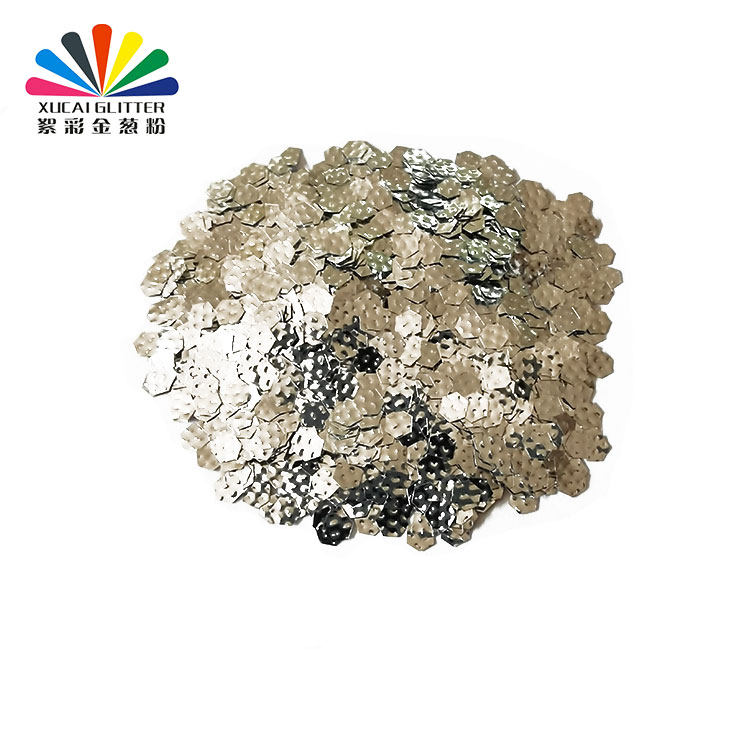 product-2020 Hot selling 3D polyester laser glitter flake for nail art, make up,cloth decoration-Xuc