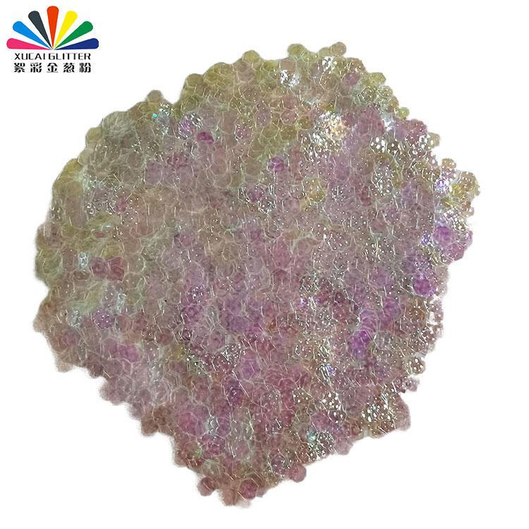 Nail Art Glitter Dust 3D Bump Polygon Shape Glitter