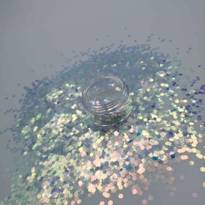 Holographic Chunky Glitter Multicolor Cosmetic Glitter for Face Eye