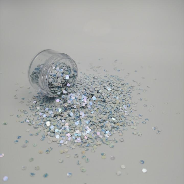 Sparkle Gradient Hexagon Chunky Glitter for Tumbler and Crafts