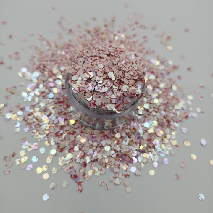 Shiny Acrylic Craft Glitter for Decorative Home Textile Wedding Invitation
