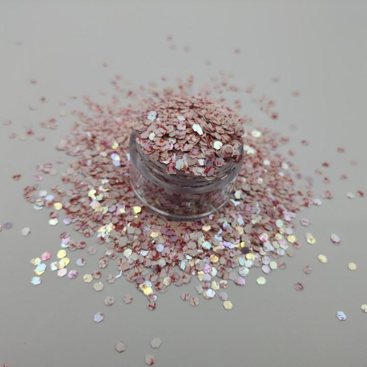 Shiny Acrylic Craft Glitter for Decorative Home Textile Wedding Invitation