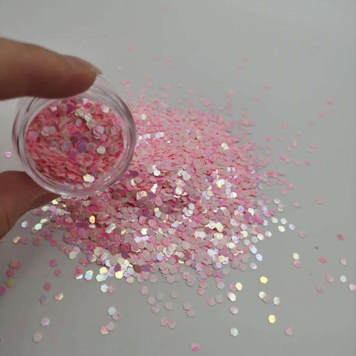 Different Shapes and Colors Glitter Powder for Different Industries