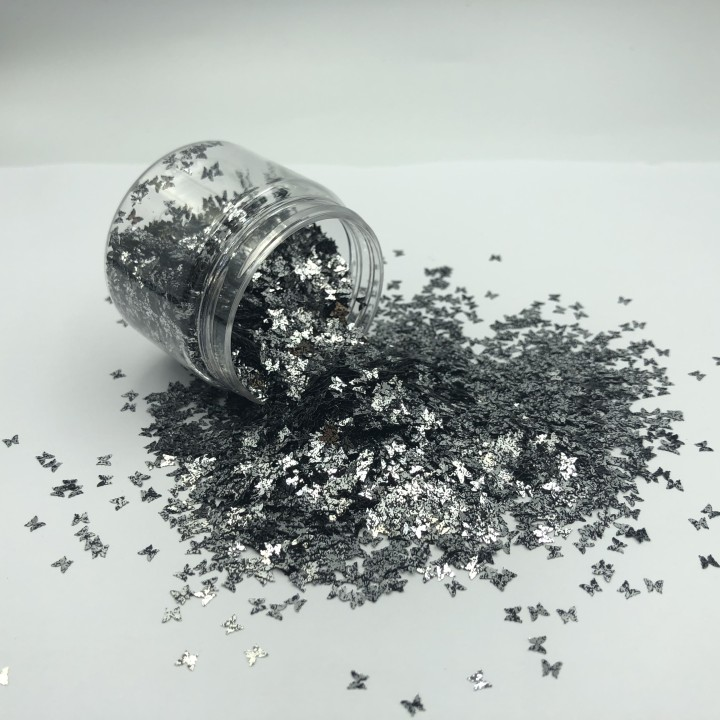 product-Xucai-Butterfly Shape Chunky Glitter Holographic Cosmetic Glitter-img