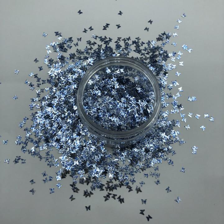 Custom Butterfly Holographic Confetti Glitter Powder Suppliers