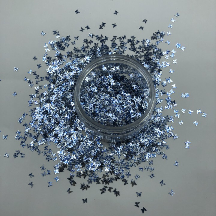 product-Custom Butterfly Holographic Confetti Glitter Powder Suppliers-Xucai-img
