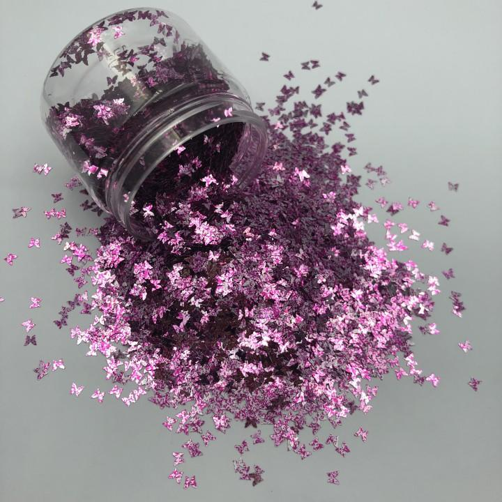 Wholesale Glitter Powder Butterfly Shape Craft Glitter
