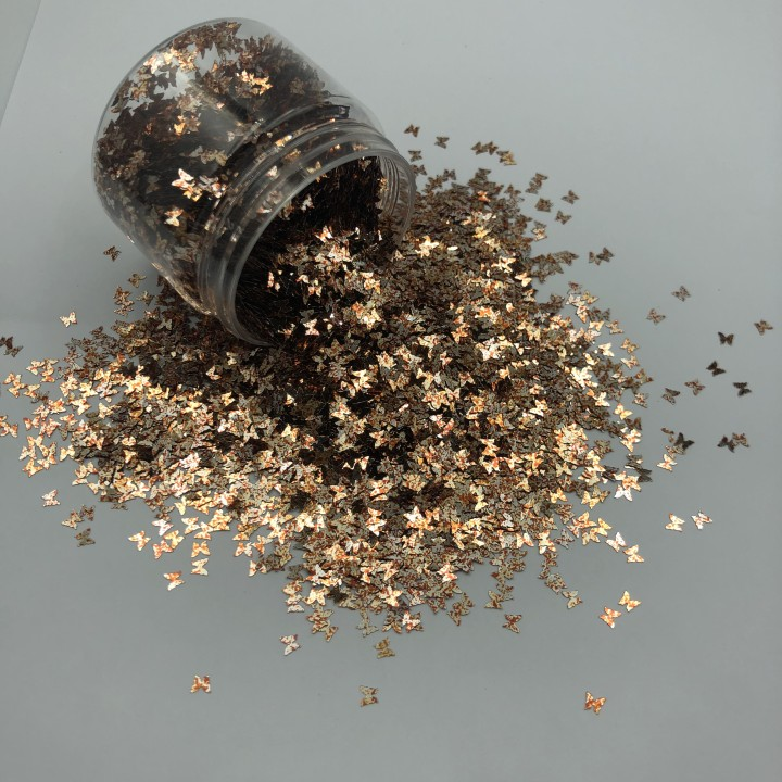 product-butterfly shape nail acrylic glitter powder for cosmetic-Xucai-img