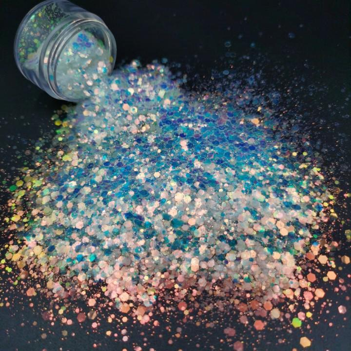 Wholesale PET Mix Nail Glitter Powder Manufacturers