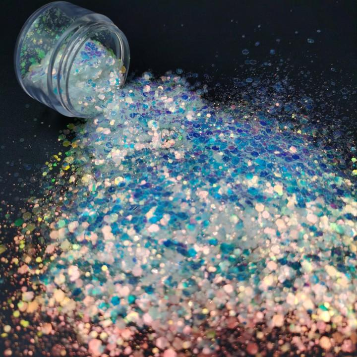 Wholesale PET Mix Nail Glitter Powder Manufacturers