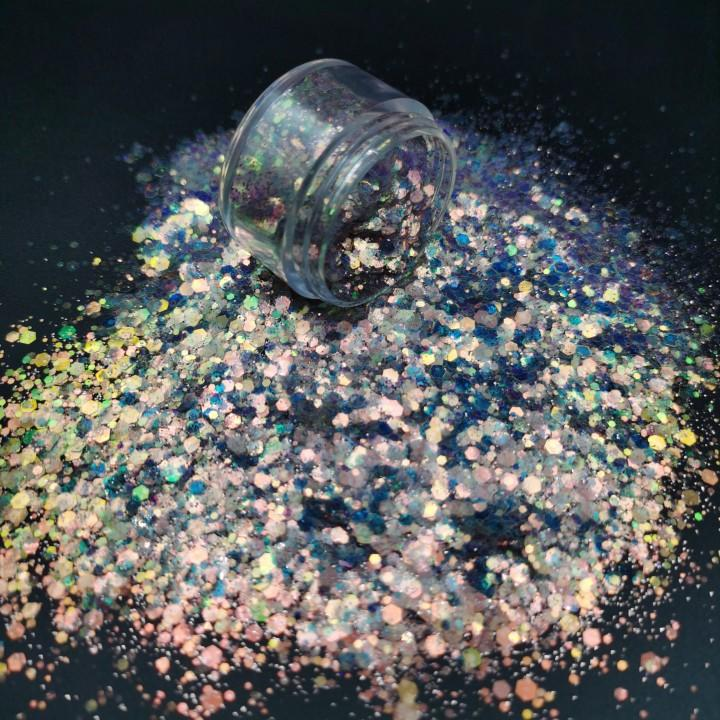 Custom Glitter Powder Used for Tumbler/Cups/Goblet
