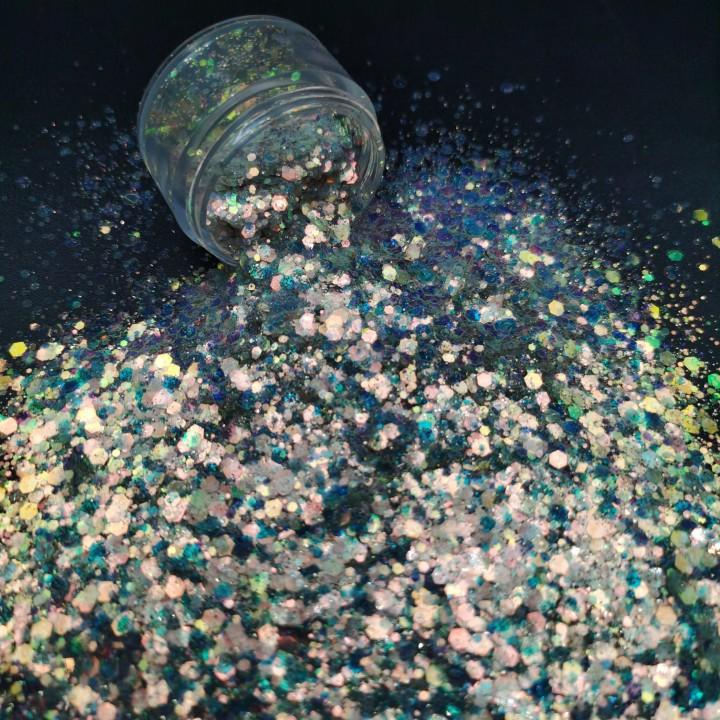 Wholesale Holographic Glitter Powder for Gifts & Crafts 1kg Packing