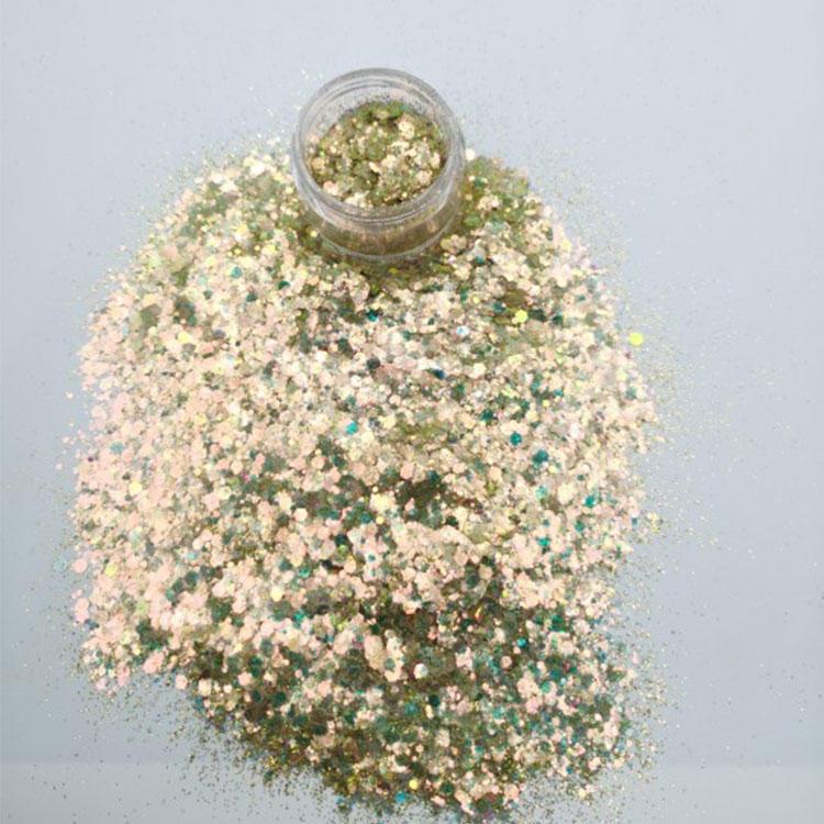 Custom Wholesale Extra Fine Glitter for Holiday Decoration