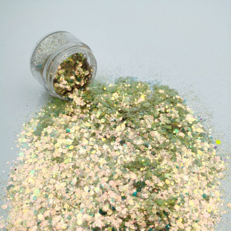 product-Xucai-XUCAI Symphony wholesale fine glitter 1kg powder for holiday decoration-img