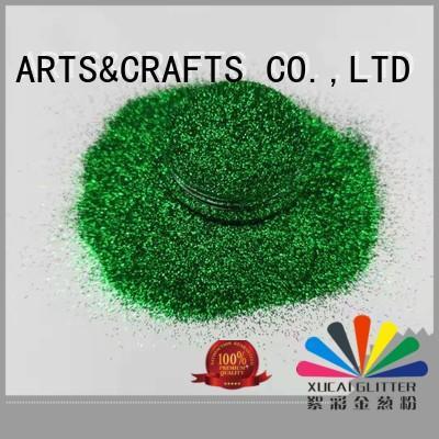 Xucai shape super fine glitter factory price for art