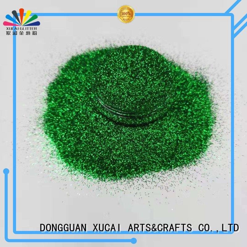 Xucai bulk biodegradable glitter for craft