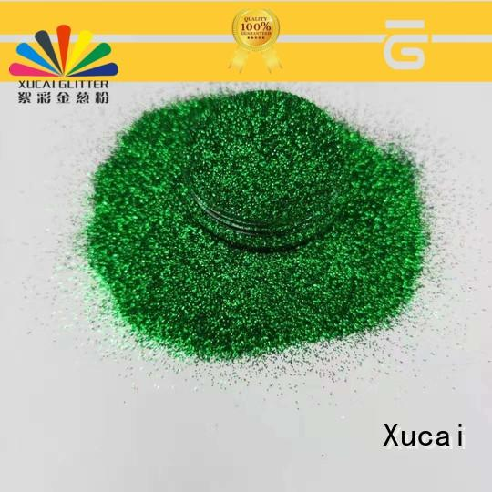 Xucai glow in the dark glitter supplier for printing